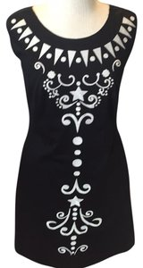 Cynthia Rowley short dress Black and white on Tradesy