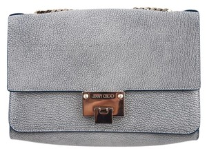 Jimmy Choo Rebel Metallic Leather Shoulder Bag