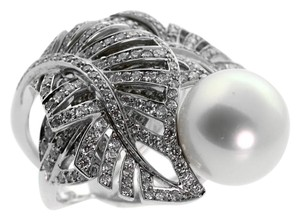 Chanel Chanel Pearl Diamond White Gold Ring