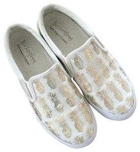Bucketfeet Pineapples Athleisure Off white/gold Athletic