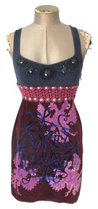 Free People short dress Purple Homecoming Formal Dance Club Date Night on Tradesy