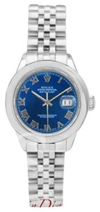 Rolex Rolex Lady-Datejust Blue Roman Dial on Jubilee Band