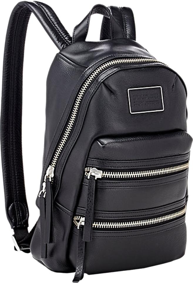 elegant and graceful discount coupon variety styles of 2019 Marc by Marc Jacobs 'domo Biker' Black Leather Backpack 38% off retail