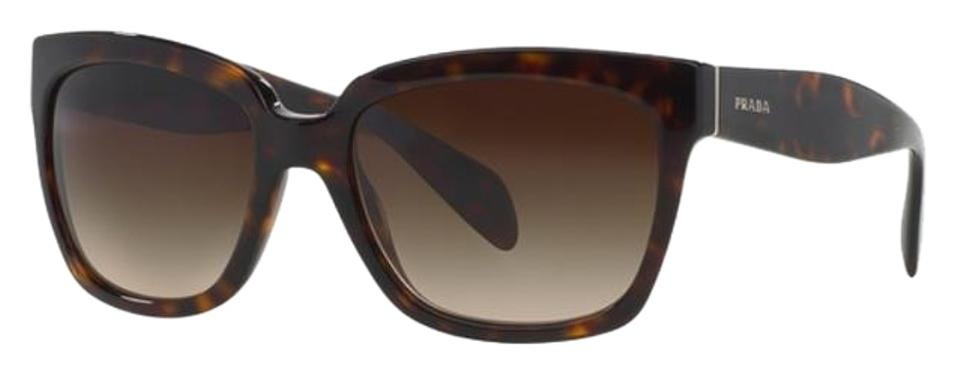 da82c83a824 Prada Prada Sunglasses PR 07PS 2AU6S1 HAVANA TORTOISE with BROWN GRADIENT  LENS - FREE 3 DAY ...