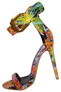 RedKiss Nwt High Heel Ankle Strap Multi Sandals