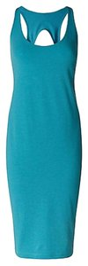 Lululemon short dress teal Sexy Weekend Errands Comfortable on Tradesy