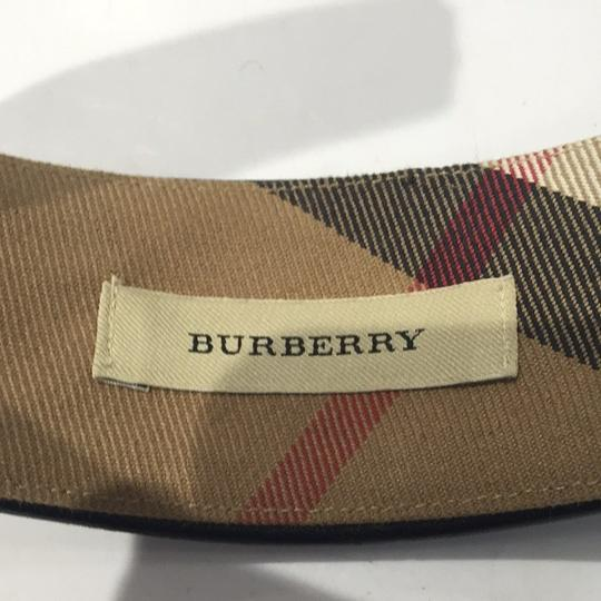 Burberry [VER]Burberry Studded Leather Black Quilted Headband Novacheck BURLM33