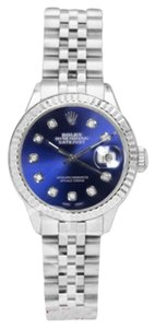 Rolex Rolex Lady Datejust Blue Diamond Dial on Jubilee Band