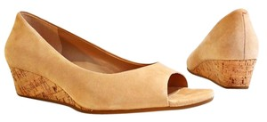 Cole Haan taupe Wedges