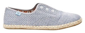 TOMS Chambray Dot Flats