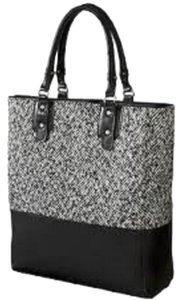 Other Tote in Black and White