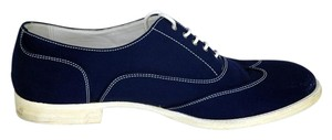 Herms Suede Oxford blue Flats