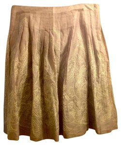 Talbots New With Tags Embroidery Light Pastel Skirt Light purple