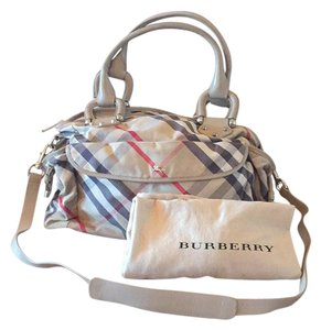 Burberry Plaid original pattern Diaper Bag