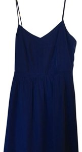 J.Crew short dress Saphire blue on Tradesy