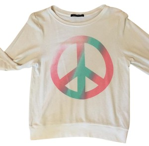 Wildfox Pullover Peace Sweater