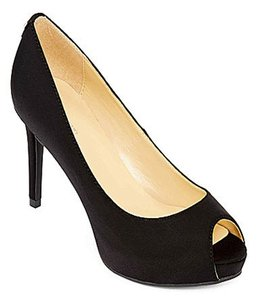 Liz Claiborne Nwt Satin Pump Black Pumps