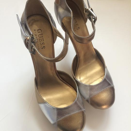 Guess By Marciano Gold Pumps