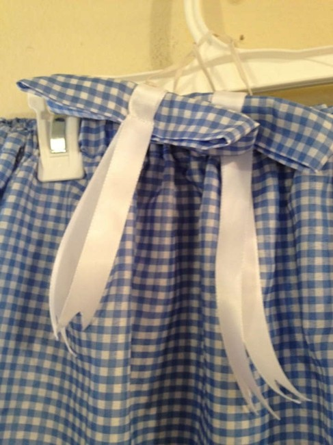 Other short dress Blue and White on Tradesy