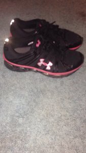 Under Armour Black/ Pink Athletic
