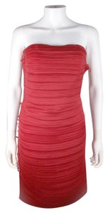 Lanvin Bandage Bodycon Strapless Dress
