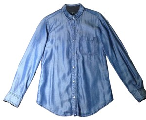 Theory Shirt Button Down Shirt BLUE