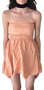 American Apparel short dress Boho Free People on Tradesy