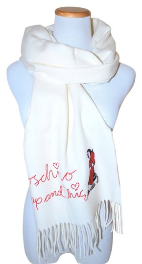 Preload https://item3.tradesy.com/images/moschino-white-italy-warm-winter-cute-off-wool-scarfwrap-1762477-0-0.jpg?width=440&height=440