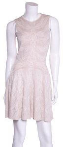 Alexander McQueen short dress Ivory on Tradesy