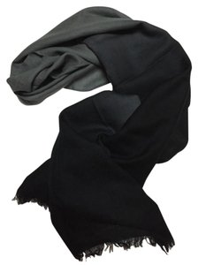 Lauren Ralph Lauren Grey and Black Pashmina Scarf