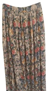 Zara Skirt Multi Color Floral