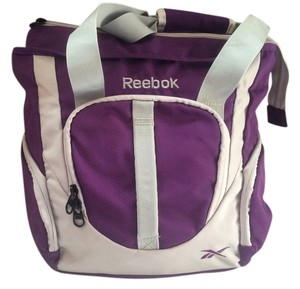 Reebok Tote in Purple with Gray trim