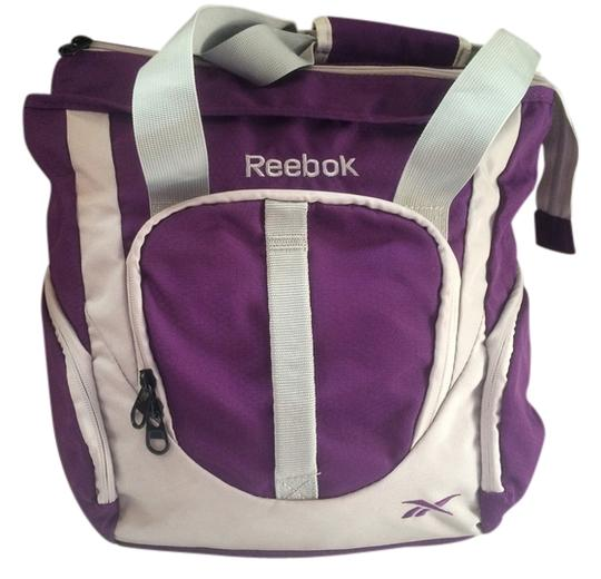 Preload https://item2.tradesy.com/images/reebok-purple-with-gray-trim-heaven-nylon-tote-1762556-0-0.jpg?width=440&height=440