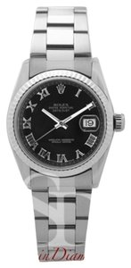 Rolex Rolex Mid-Size Datejust Roman Numerals on Oyster Band