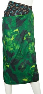 Dries van Noten Skirt Green & Blue