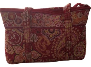 Vera Bradley Tote in Red, Orange, Pink, And Yellow