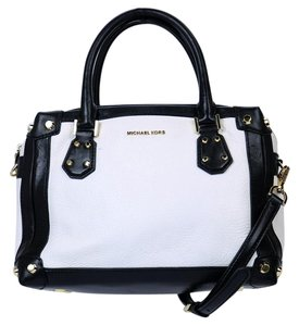 Michael Kors Taryn Leather Satchel in Multi