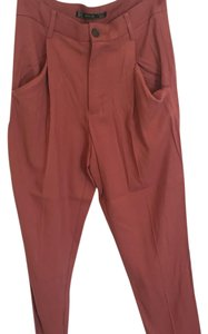 Zara Relaxed Pants Pink/Salmon