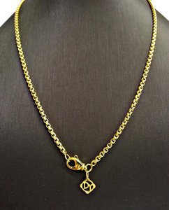 David Yurman David Yurman Box Chain Necklace in 18 Karat Gold, 2.7mm 18 inches