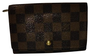 Louis Vuitton lvdsl29 Auth Louis Vuitton Damier Snap Wallet Tri-Fold
