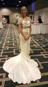 Vintage Flair Wedding Dress