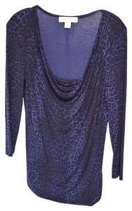 Michael Kors Top Dark Blue