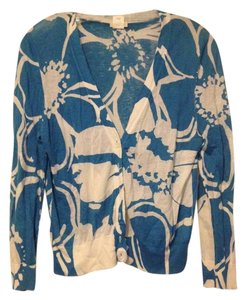 J.Crew Floral Bright Cotton Cardigan