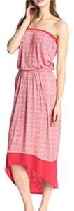 NEW Red Pattern Maxi Dress by Velvet by Graham & Spencer