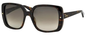 Dior NEW Dior Jupon 1 Oversized Square Plastic Brown Sunglasses