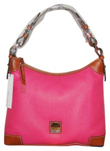 Dooney & Bourke Pebble Leather Lined R924hp Hobo Bag