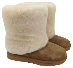 UGG Australia Shearling Sheepskin Wool Chestnut/Tan Boots
