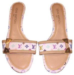 Louis Vuitton Multicolor Mules