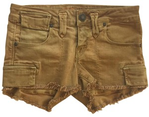 Taverniti So Jeans Cargo Shorts Mustard
