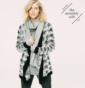 Lou & Grey The Loft Open Cardigan & Sweater